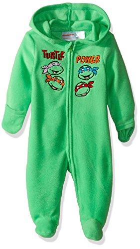 Nickelodeon Baby Boys' Teenage Mutant Ninja Turtle Outerwear Pram, Green, 3-6 Months (Tmnt Outfit)