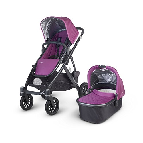 Uppa Baby 2015 Vista Stroller with Bassinet in Samantha