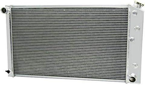 ALLOYWORKS 3 Row All Aluminum Radiator 2X12 Fans Shroud For 1977 ...