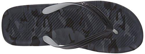 Black Quiksilver Grey Men's Haleiwa Print Black OznR8tqz