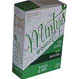 Minty's Wraps 100% Organic Mint Leaf Wraps - 25 Pack Display + Beamer Smoke Sticker…