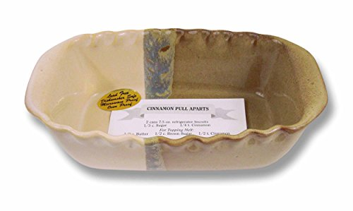 Clay In Motion Handmade Ceramic Loaf Pan - Desert Sand