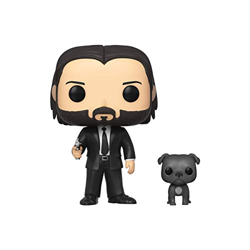 Pop! Movies John Wick - John in Black Suit w/ Dog