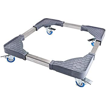 Fridge Stand Furniture Adjustable Dolly With 4 Double