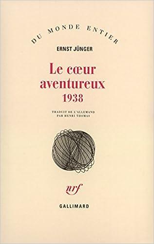 Livres Le Coeur aventureux (1938) pdf, epub ebook