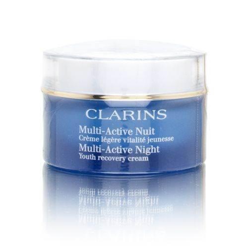 Clarins Multi-Active Nuit Crème Jeunesse récupération Peaux normales à mixtes, 1,7 once