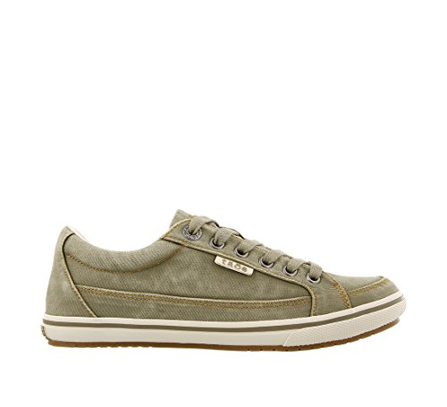 Sneaker Distressed Taos Star Moc Sage Footwear Women's xOTqTYwP8