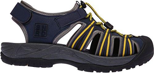 SNRD  SN210,  Damen Sneaker Low-Tops Schwarz / Gelb