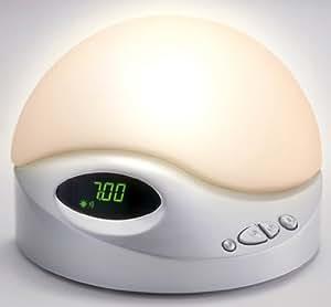 BioBrite Pearl SunRise Alarm Clock with Sleep Sounds
