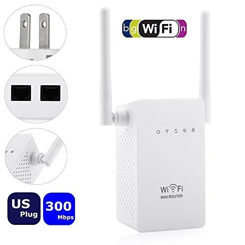 Eye Fi Home Video (Universal 4+1 Modes Wifi Range Extender Network Antenna Wi-fi Expander Range Signal Amplifier Encryption for Home, Office, Hotel, Garden, Restaurant, Apartment, Street etc. RPT21A1)