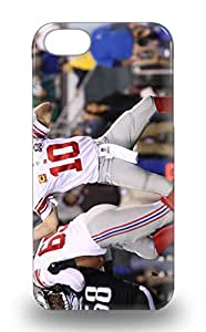 Iphone 5/5s Hard 3D PC Soft Case With Awesome Look NFL New York Giants Eli Manning #10 ( Custom Picture iPhone 6, iPhone 6 PLUS, iPhone 5, iPhone 5S, iPhone 5C, iPhone 4, iPhone 4S,Galaxy S6,Galaxy S5,Galaxy S4,Galaxy S3,Note 3,iPad Mini-Mini 2,iPad Air )
