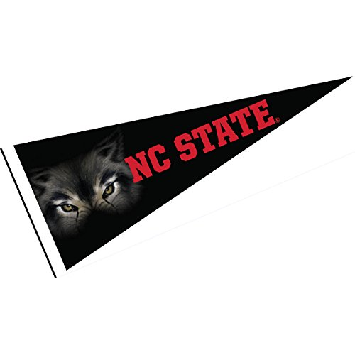 College Flags and Banners Co. NC State Wolfpack Wolfpack Eyes Pennant
