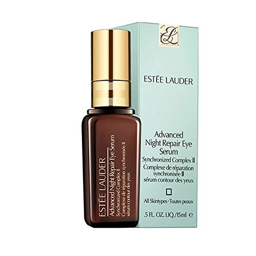 Estee Lauder Advanced Night Repair Eye Serum with Synchronized Complex II, 0.5 Ounce (Pack of 2)