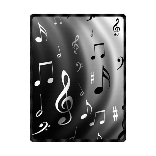 "50"" x 80"" Musical Notes Blanket"