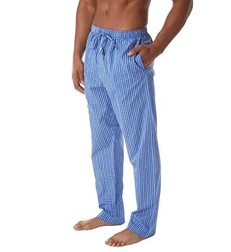 Polo Ralph Lauren 100% Cotton Fashion Woven Pajama Pant (P501SR) L/Bedford Plaid