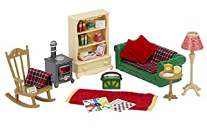 sylvanian families cosy living room set - Sylvanian Families Living Room Set