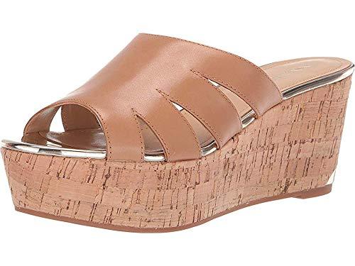 Nine West Women's Victoria Platform Sandal Light Natural 7 M US