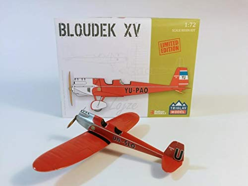 Triglav Model Aircraft BLOUDEK XV Lojze 1/72 Scale, Limited Edition Resin Kit