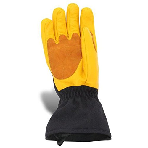 Volt Heated Work Gloves - Leather Work Gloves - Rechargeable battery heated gloves that will help keep your hands warm while you work in cold conditions. by Volt (Image #1)