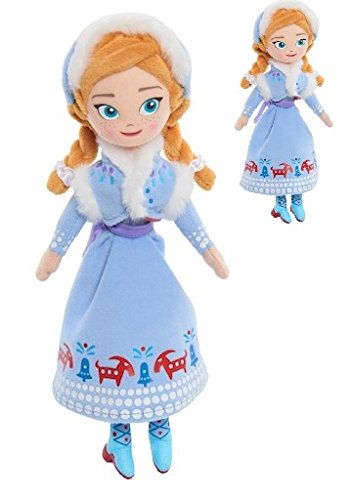 New Frozen Dresses (Disney Olaf's Frozen Adventure Bean Plush - ANNA - Made with Super Soft Fabrics, Comes in Her New Dress with Matching Jacket from Olaf's Frozen Adventure! Comes in Small Collectible Size)