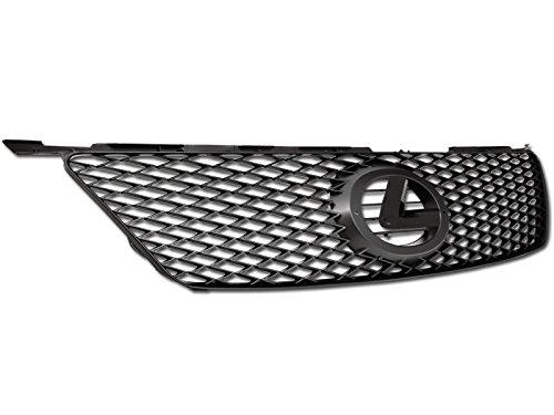 Excl. IS-F Matte Black Armordillo USA 7163522 OE Style Grille Fits 2006-2008 Lexus IS250//IS350