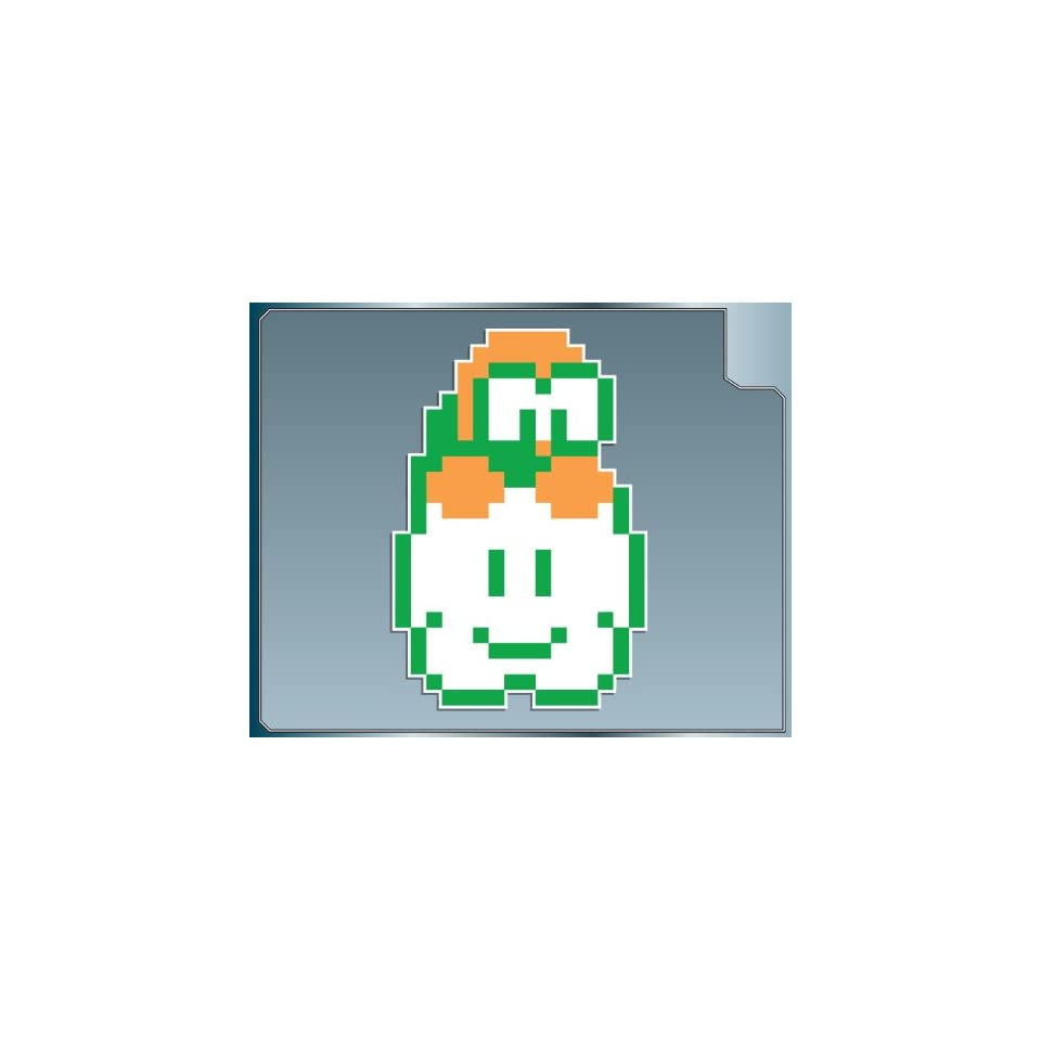 LAKITU 8Bit from Super Mario Bros. vinyl decal sticker