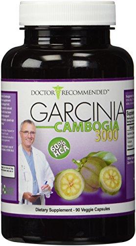 Garcinia Cambogia Capsules-Pure Extract-Natural Dietary