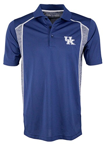 Polo Antigua Striped Shirt - University of Kentucky Attempt Polo Shirt (small)