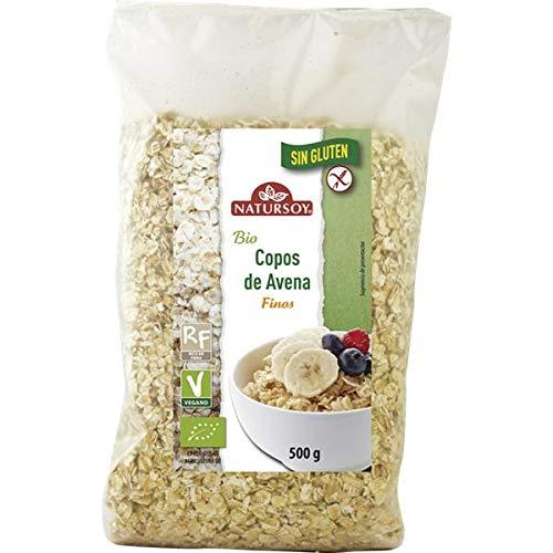Copos avena finos sin gluten Natursoy 500 g: Amazon.es ...