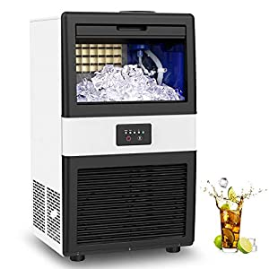 Commercial Ice Maker Machine, 70lbs/24h...