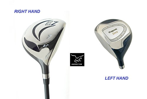 Mens 7 Wood (AGXGOLF Men's Magnum #7 Utility Fairway Wood wGraphite Shaft: Choose Length & Flex: Free Head Cover Fast Shipping Made in USA)