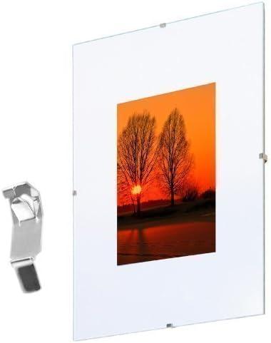Marcos para Cuadros sin Montura 50x70 cm, Plexiglas Pack Doble: Amazon.es: Hogar