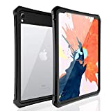 FXXXLTF iPad Pro 11 inch 2018 Waterproof Case, iPad 11 Full Body Cover