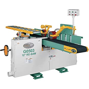 Grizzly G0503 Horizontal Re Saw Bandsaw 12 Inch Power