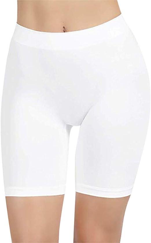 Feifish Legging Court Femme Culotte Sécurité Legging Short sous Jupe Slip Short Legging de Bain Femme Short de Bain Long Femme Plage Bas Maillot de