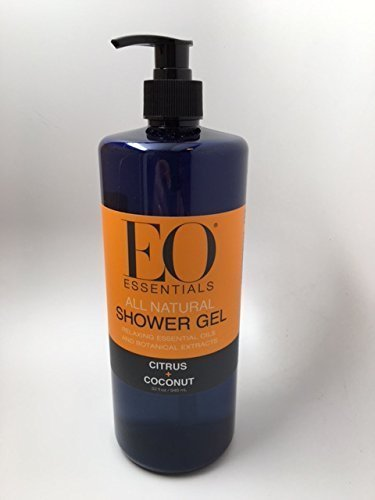 (EO Essentials All Natural Shower Gel (citrus coconut, 32 ounces))
