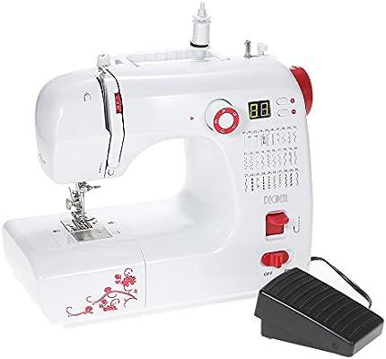 decdeal Máquina de coser con accesorios punto 30 programas, LED ...