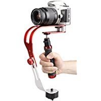 Sofoto PRO Handheld Video Camera Stabilizer Steady, Perfect for GoPro, Smartphone, Sony, Canon, Nikon or any DSLR DV SLR Digital Camera Camcorder up to 2.1 lbs With Smooth Pro Steady Glide Cam HS-01