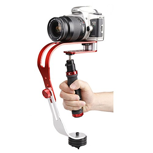 Sofoto PRO Handheld Video Camera Stabilizer Steady, Perfect for GoPro, Smartphone, Sony, Canon, Nikon or any DSLR DV SLR Digital Camera Camcorder up to 2.1 lbs With Smooth Pro Steady Glide Cam HS-01 by Sofoto