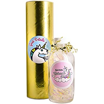 Geek Details Limited Edition Cotton Candy Scented Glow in the Dark Unicorn Sharts in a Jar