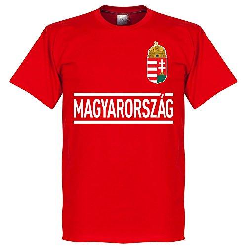 Ungheria Szalai 11 Team T-Shirt - Rosso