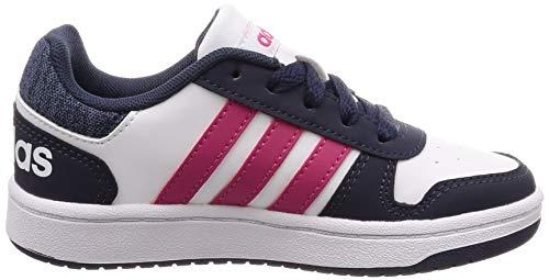 Zapatos Unisex reamag trablu De Blanco 2 ftwwht trablu 0 Ftwwht Niños Hoops Adidas reamag Baloncesto qAwtZZFB