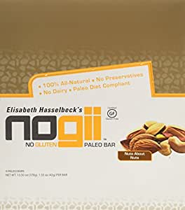 Paleo Bar Gluten-Free-Nuts About Nuts- Box Nogii 9 Bars 1 Box