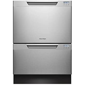 Fisher Paykel DD24DCHTX7 24 Drawer Dishwasher, Built-In Water Softener - Stainless Steel