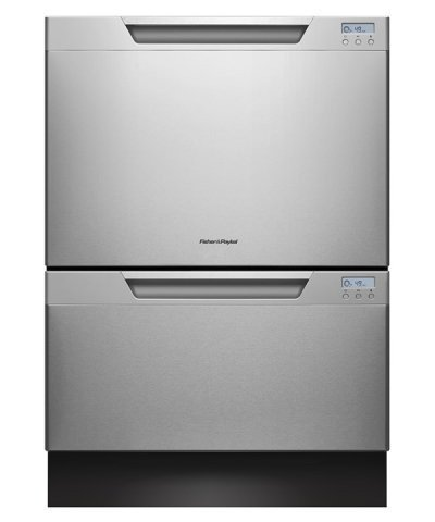"Fisher Paykel DD24DCTX7 DishDrawer 24"" Stainless Steel Semi-Integrated Dishwasher - Energy Star"