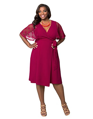 Kiyonna-Womens-Plus-Size-Captivating-Crochet-Wrap-Dress