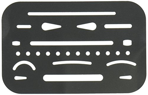Alvin Stainless Steel Erasing Shield