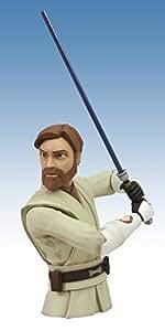 Diamond Select Toys Star Wars The Clone Wars Obi-Wan Vinyl Bust Bank