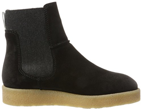 Stivali Flat Chelsea Donna O'Polo Black Marc Nero 70914295001304 Heel BOvTB1q