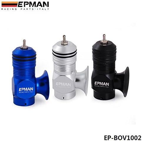 EPMAN Universal Billet Aluminum Type-H-RFL Blow off Valve BOV Turbo//Intercooler Silver